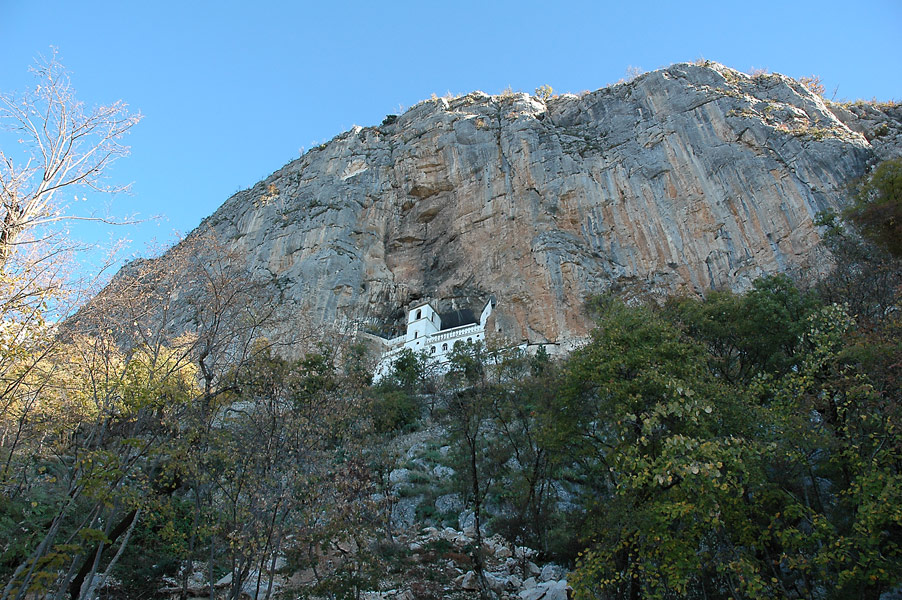 Monastery in the Rock - Ostrog Monastery