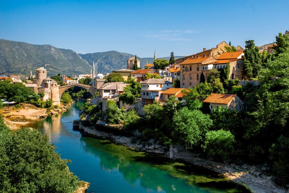 Mostar - Neretva River