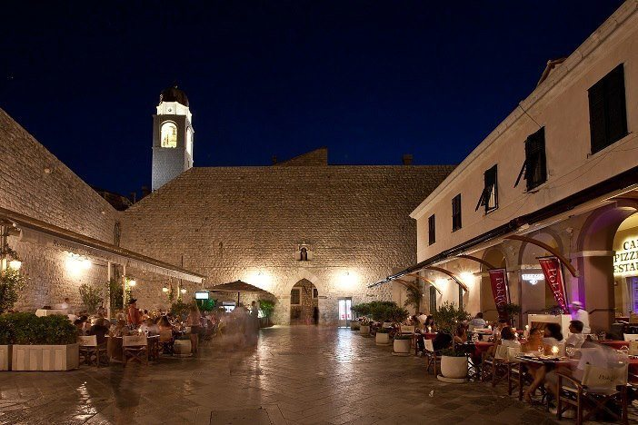 Restaurant in Old Town Dubrovnik