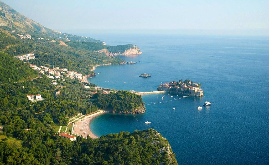 Riviera of Budva and Sveti Stefan