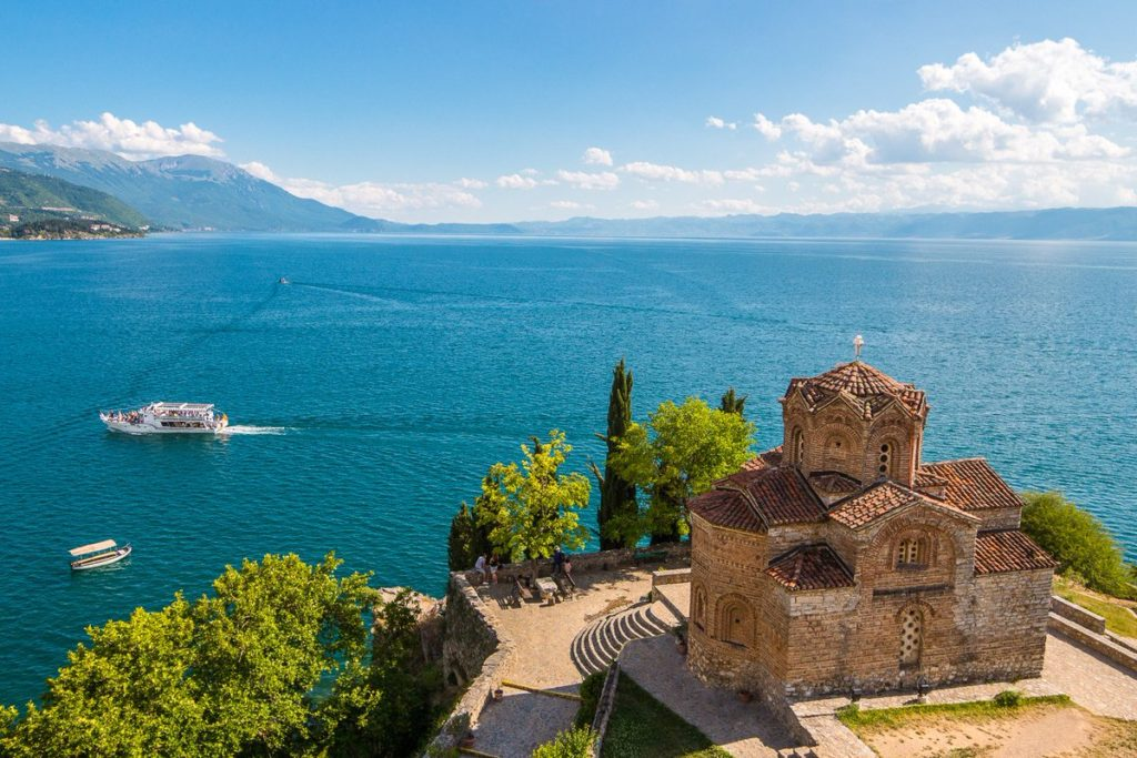 Saint John at Kaneo Ohrid