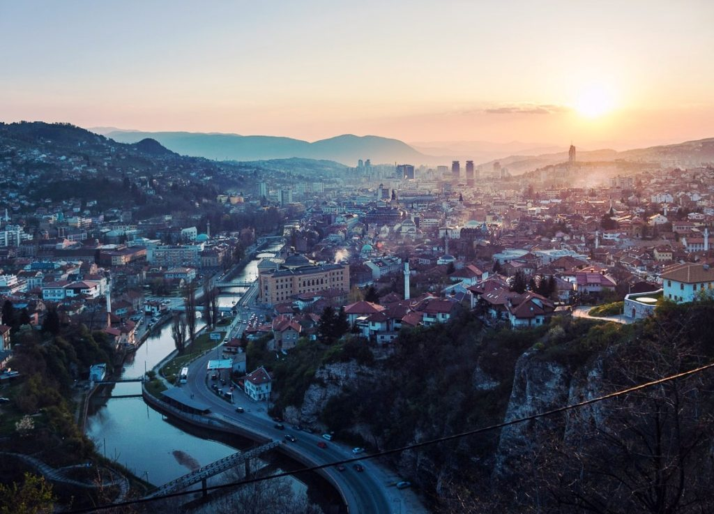 Sarajevo - The capital of Bosnia and Herzegovina