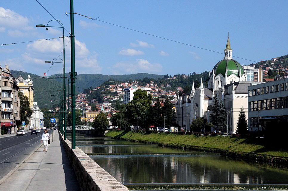 Sarajevo - Miljacka River
