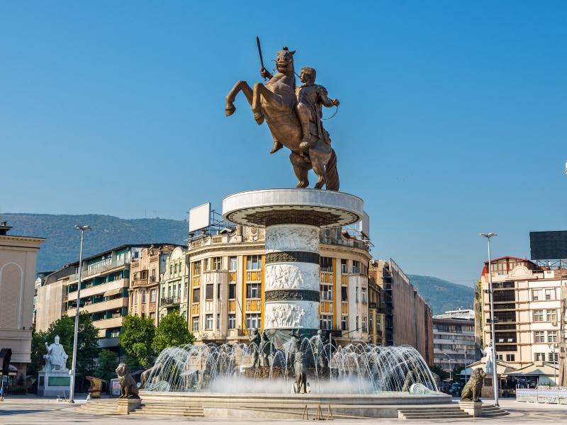 Skopje - Aleksandar Makedonski Square