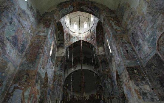 Sopocani Monastery near Novi Pazar