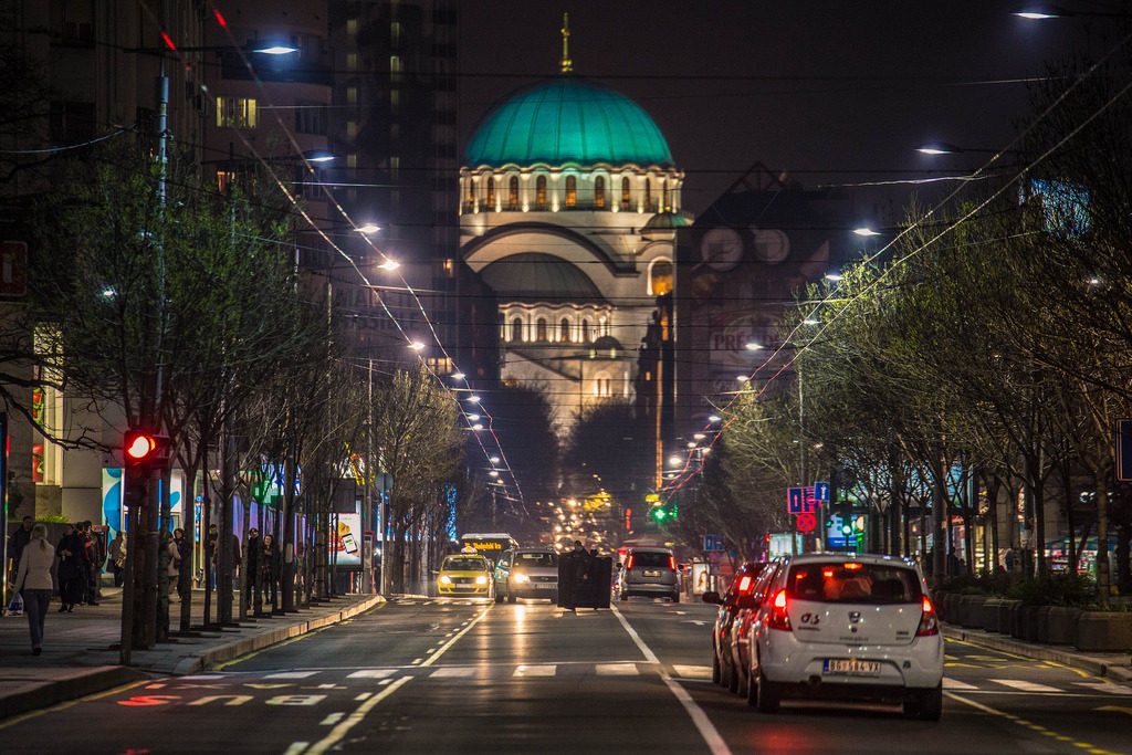 The Church of Saint Sava Belgrade - Serbia