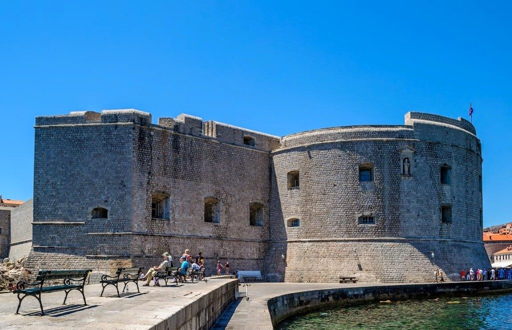 The St. John Fortress Dubrovnik