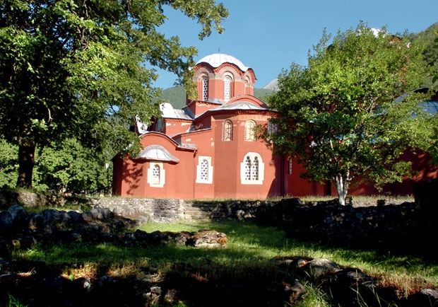 The complex of the Pec churches - Patriarchate of Pec