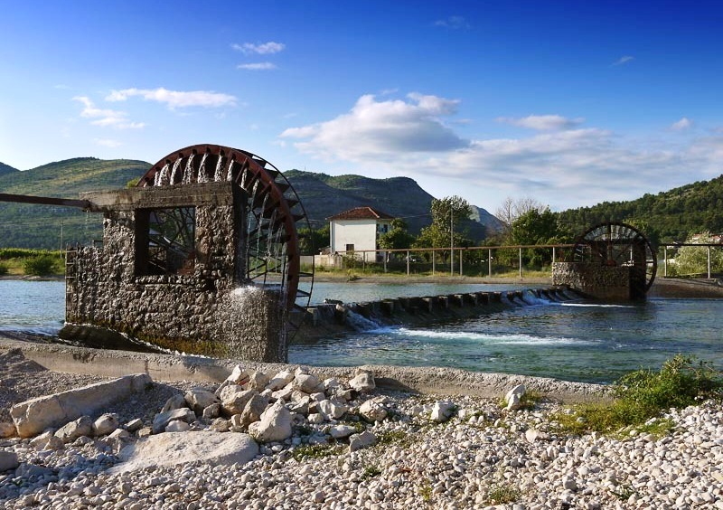 Hydro Power Plant on the Trebisnjica River