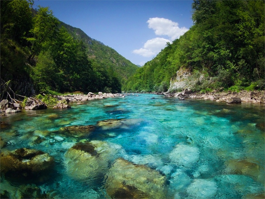 Rafting - Tara Canyon