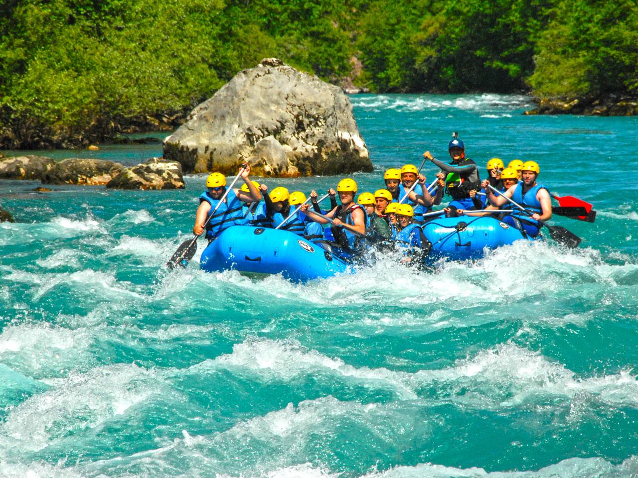 Rafting Tara - Rapids