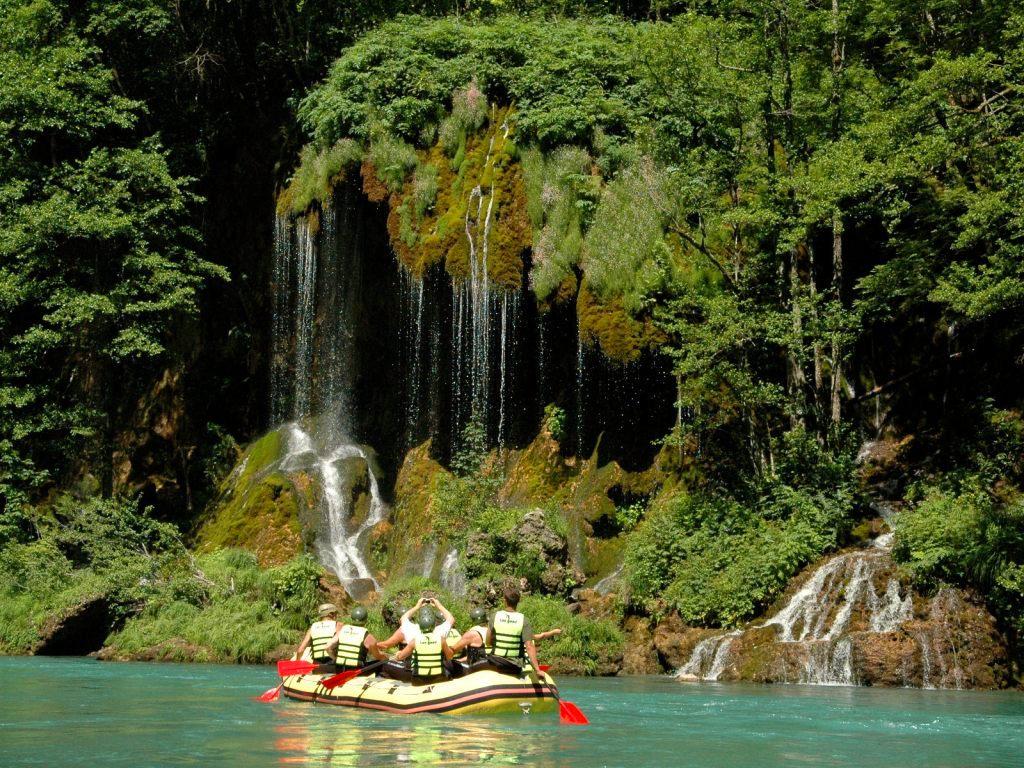 White Water Rafting - Tara River Waterfall