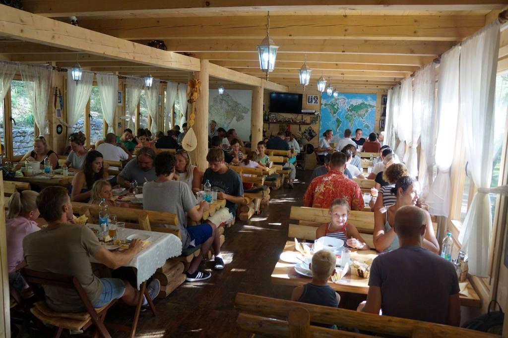 Tara Rafting - Restaurant