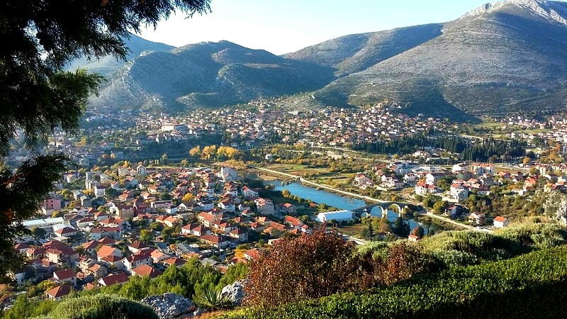Trebinje from Crkvine Hill