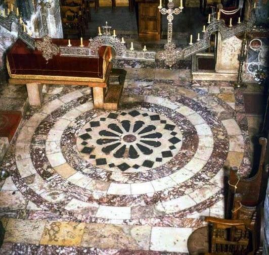 Ancient Golden Plated Floor - Decani Monastery