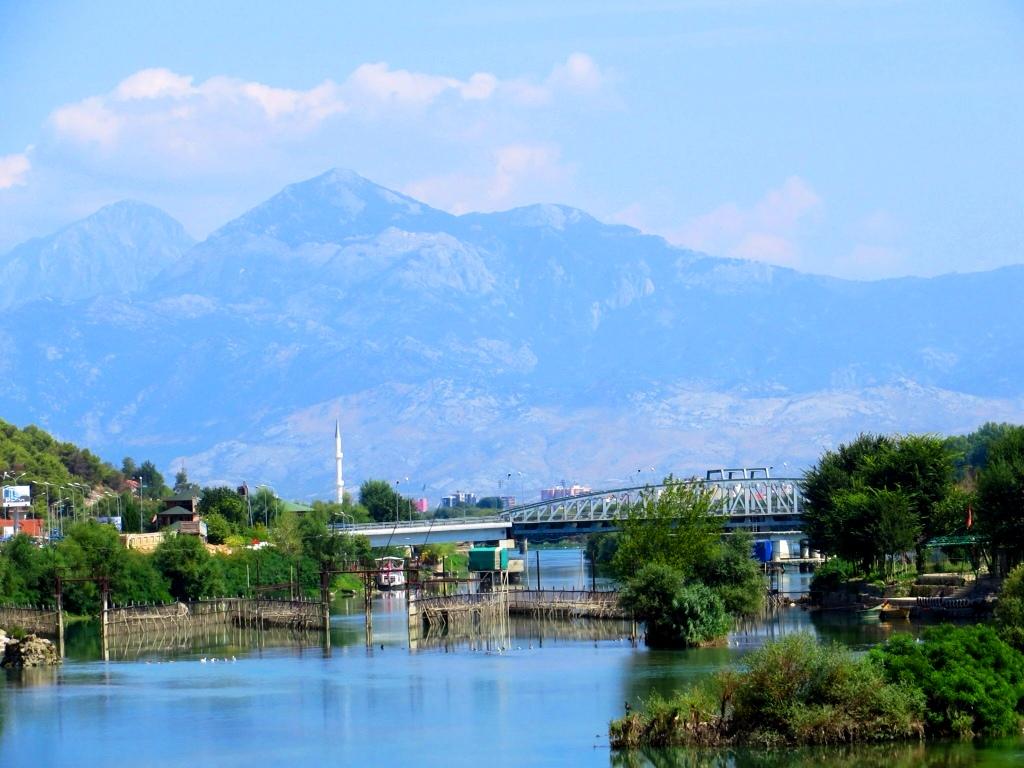 Bojana River near Skadar - Albania