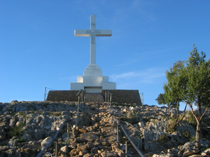 Cross Mountain Krizevac Medjugorje