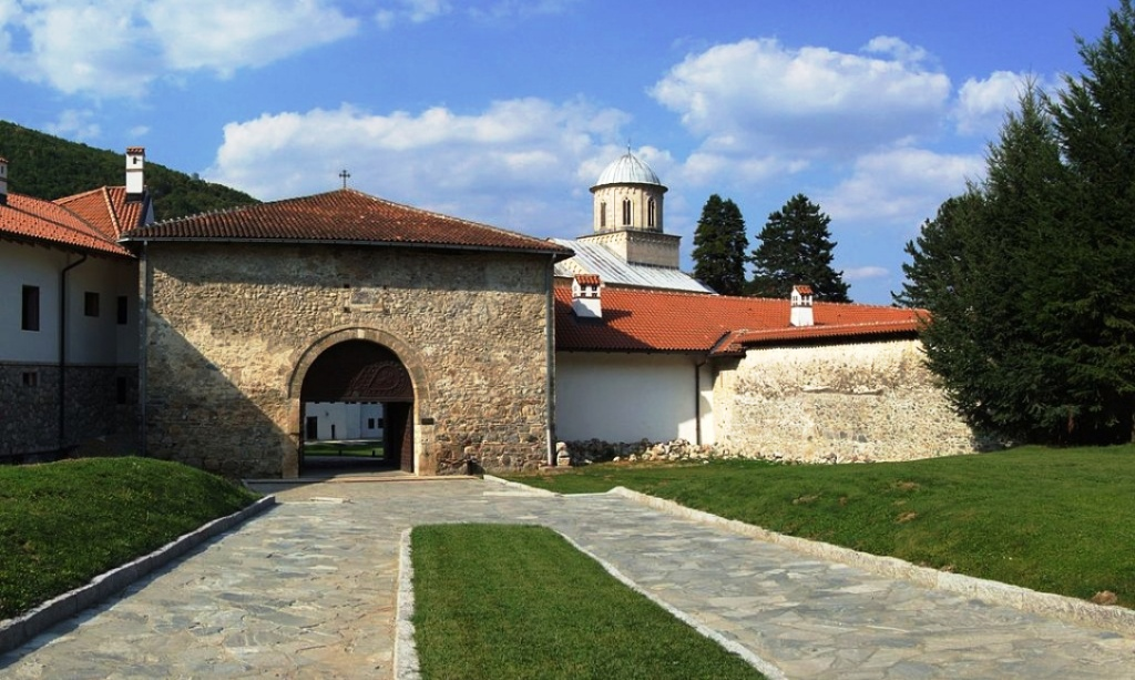 Entrance to the Decani Monastery