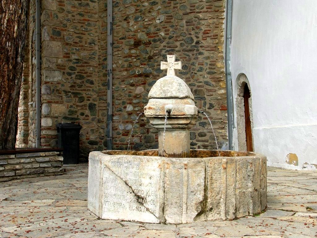 Fountain in Decani Monastery