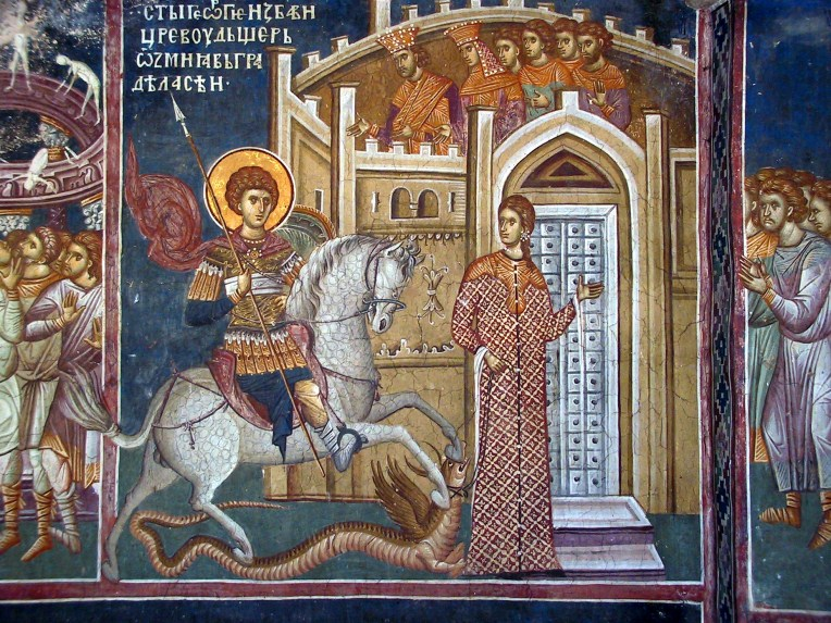 Fresco from the Monastery of Decani