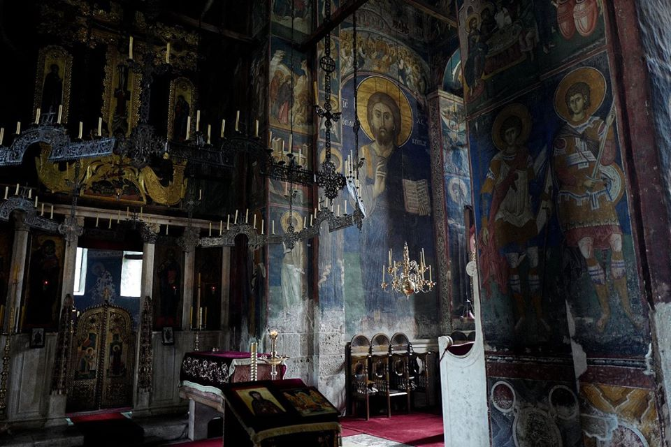 Frescoes monastery Decani