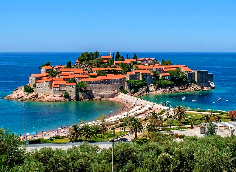 Luxury Resort in Montenegro - Sveti Stefan