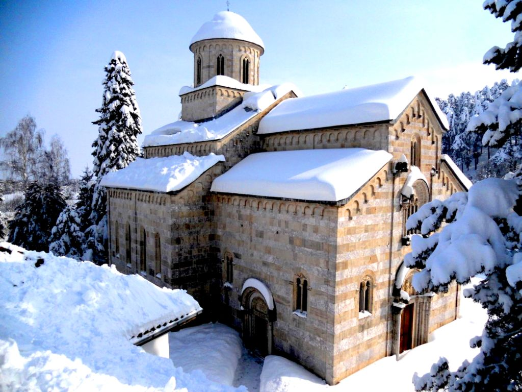 Magical fairytale in Decani Monastery