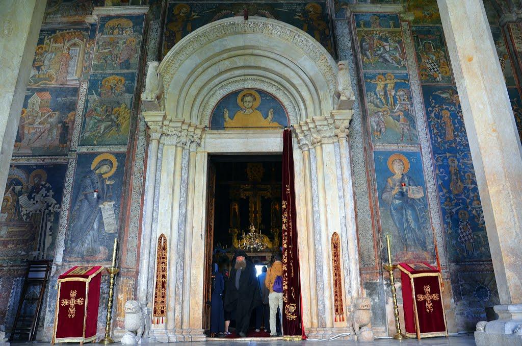 Monastery frescoes - Visoki Decani