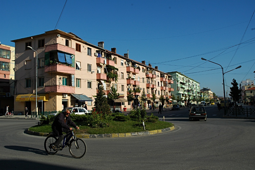 One street in Skadar - Albania