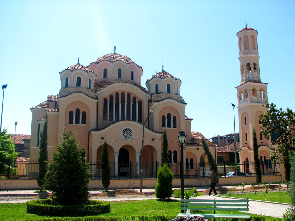 Orthodox church in Skadar