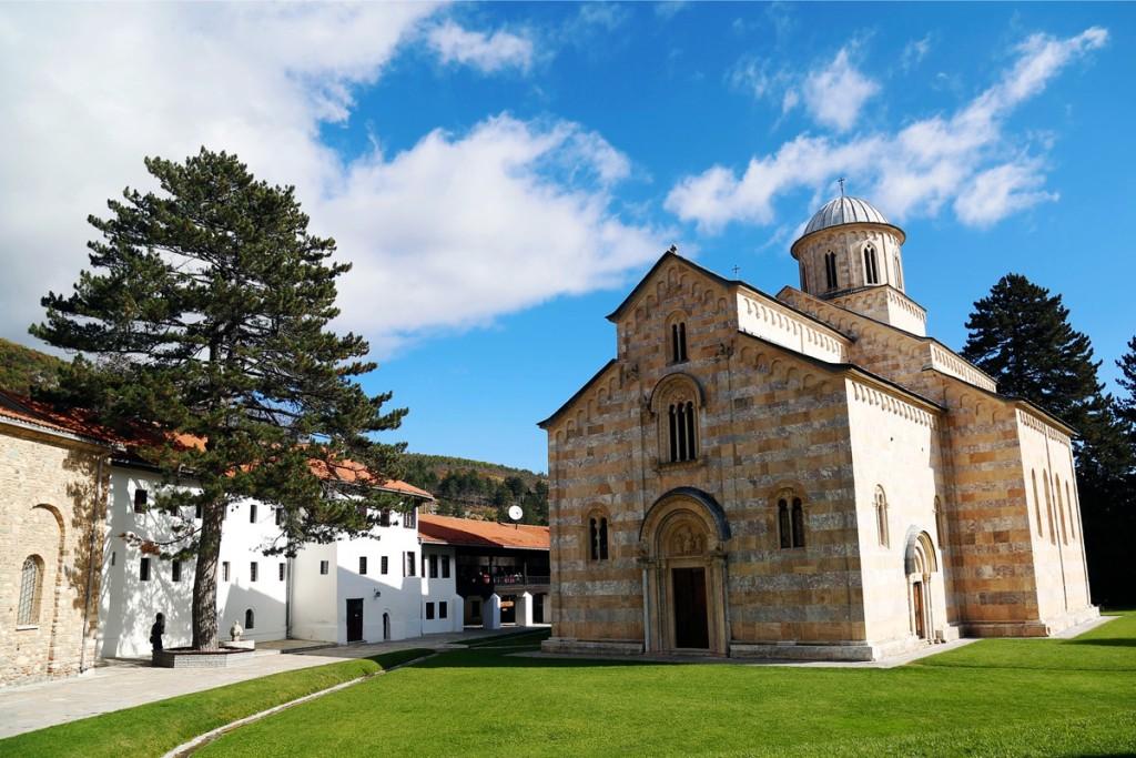 Principal church (Katholikon) - Decani Monastery