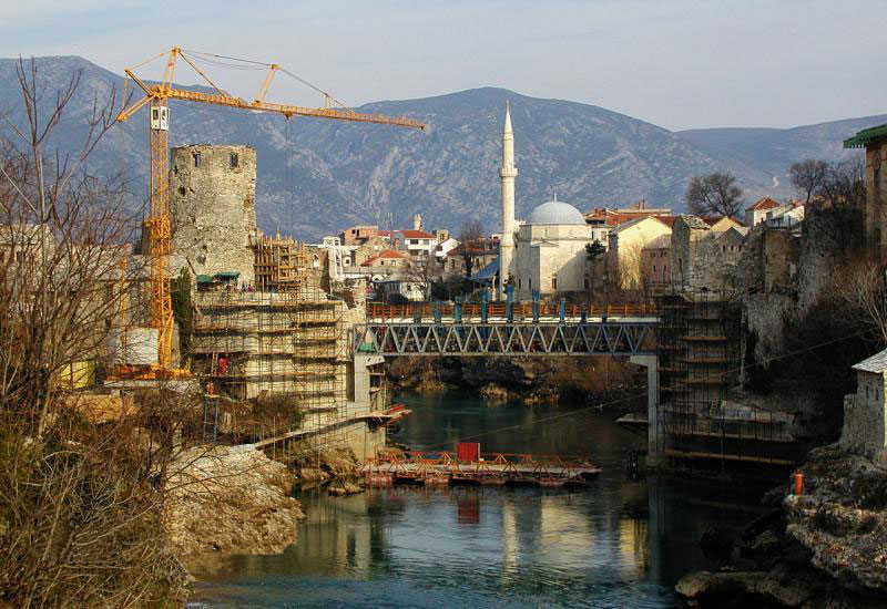 Reconstruction of the Old Bridge in Mostar
