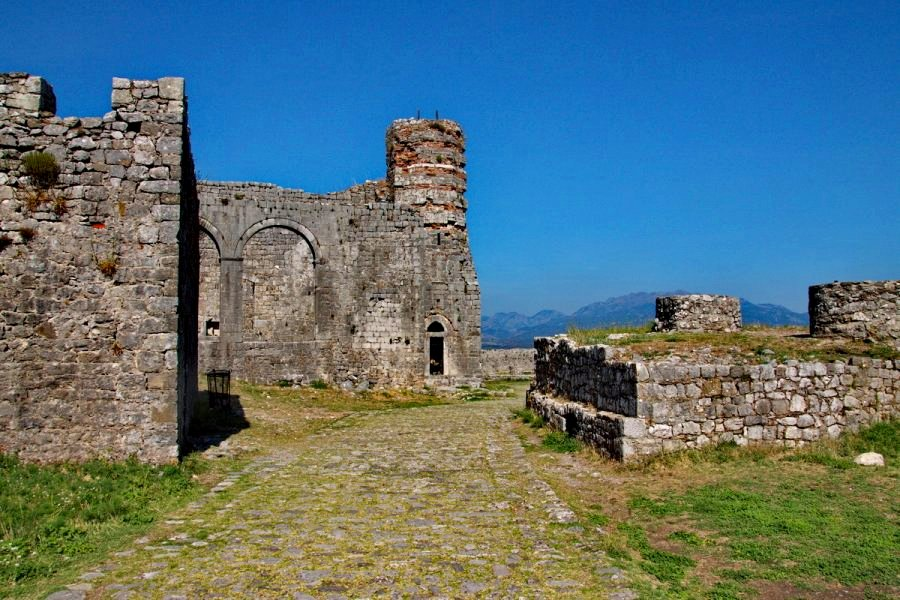 Rozafa Castle Buildings Skadar