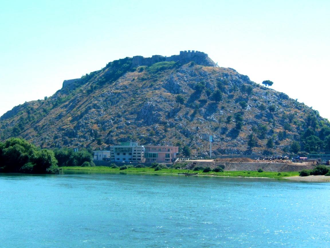 Rozafa castle near Skadar Albania