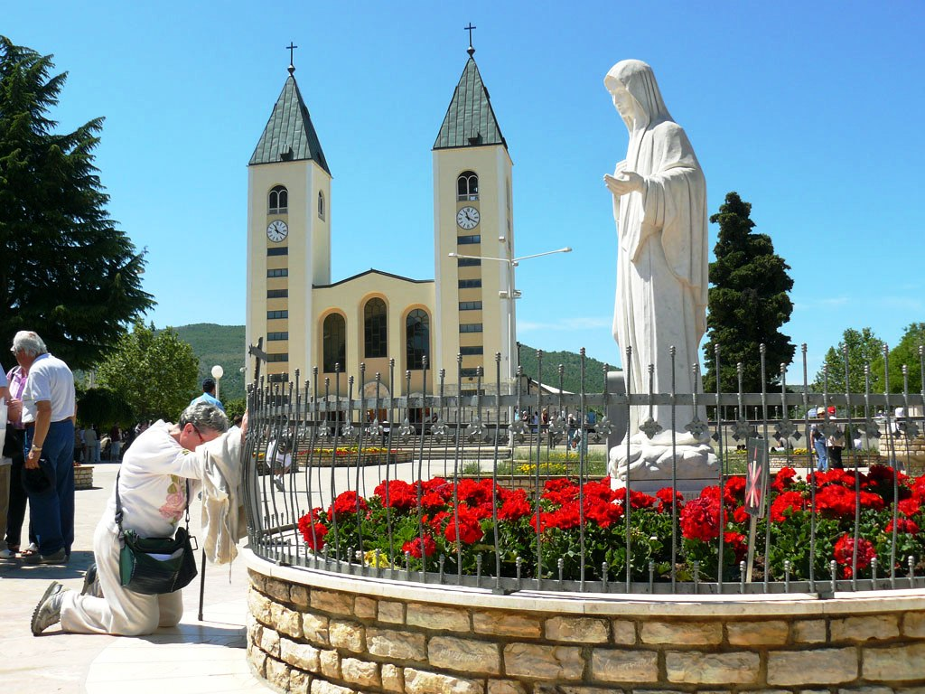 Statue of the Queen of Peace Medjugorje