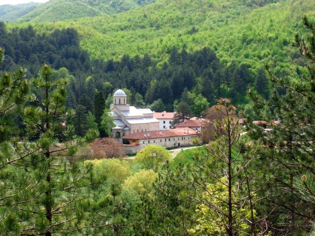 The complex of Visoki Decani Monastery