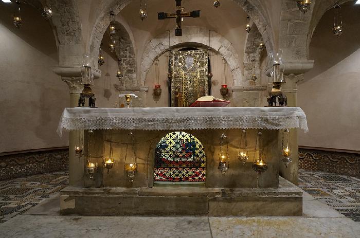 Tomb of Saint Nicholas in Bari - Italy
