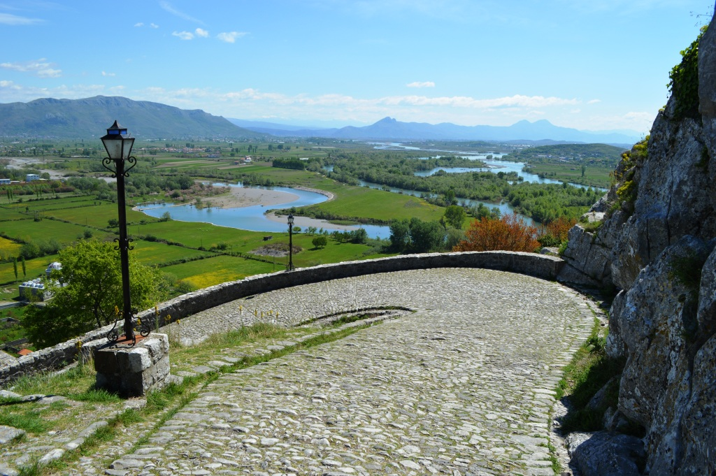 View from Rozafa Fortress Skadar