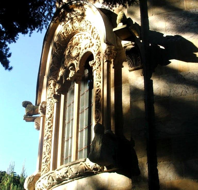 Window in Decani Monastery