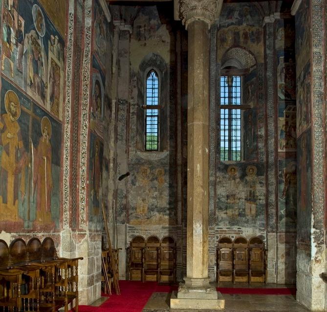 Windows in Decani Monastery