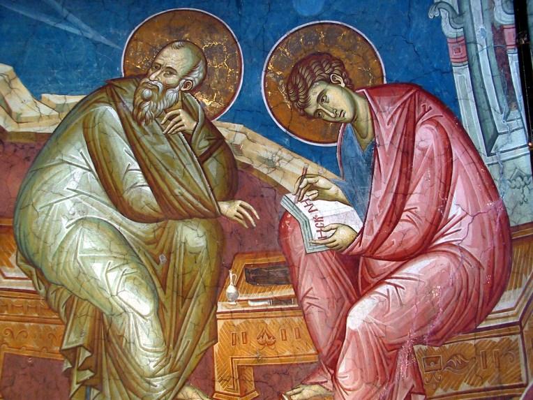 Fresco painting from Visoki Decani Monastery