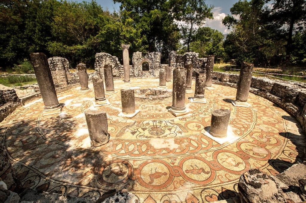 Albania - Butrint ruins