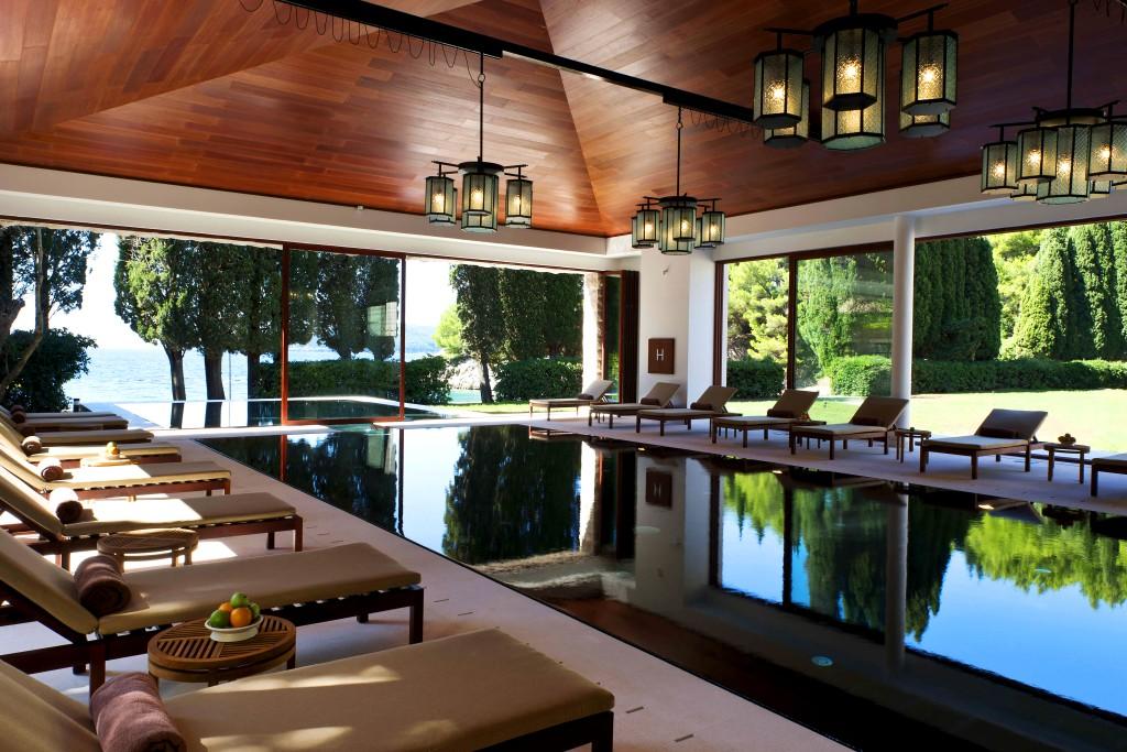 Aman Resort Sveti Stefan - SPA and Indoor pool