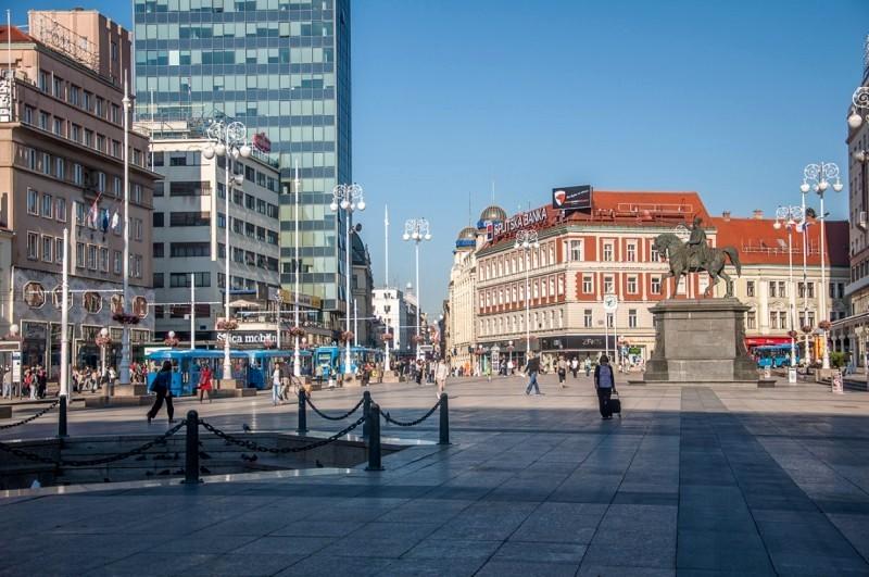 Ban Jelacic Square Zagreb