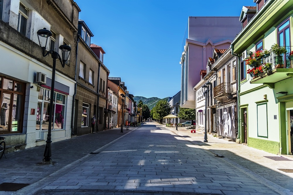 Cetinje - Historic capital of Montenegro