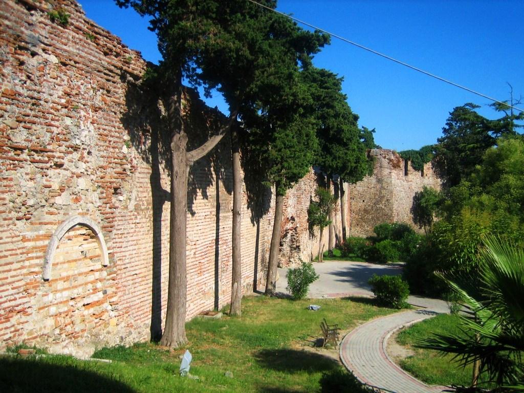 Durres - Byzantine walls