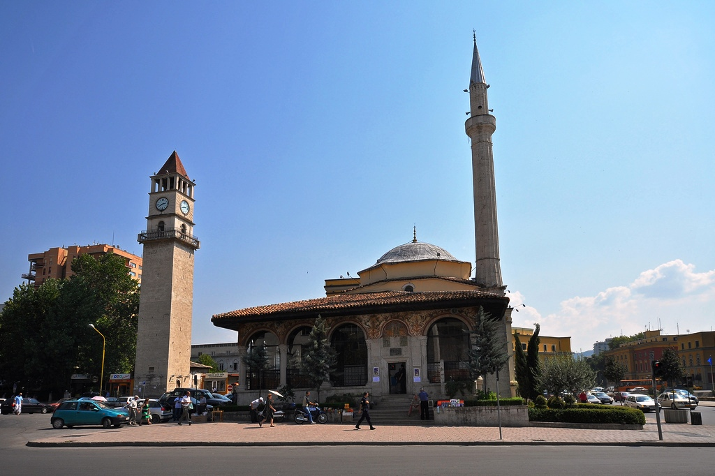 Ethem-Bey Mosque in Tirana Albania