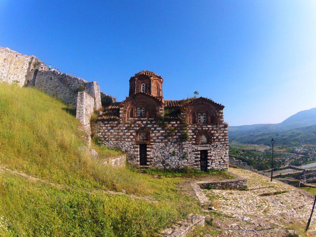 Holy Trinity church at Berat castle