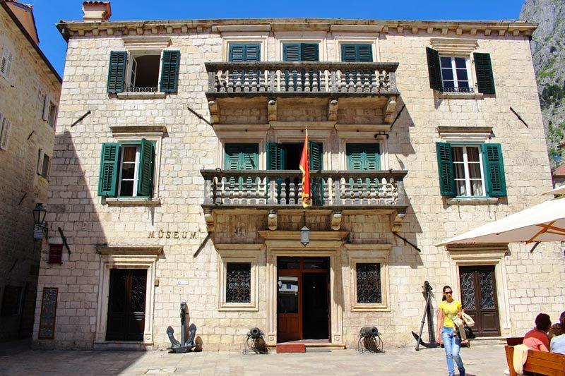 Maritime Museum - Grgurina Palace Kotor