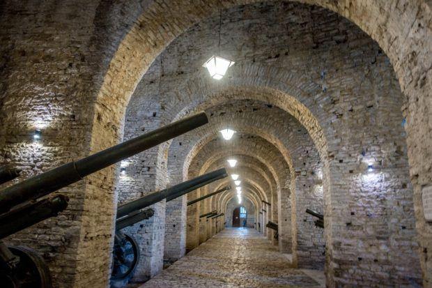 Museum of Weapons in Gjirokastra Castle